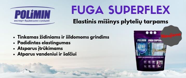 Plytelių glaistas Fuga Superflex