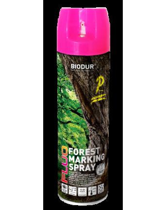 Aerozoliniai miško ženklinimo dažai Biodur, rožiniai, 500 ml.
