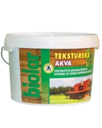 "Dekoratyvinis apsauginis lakas medienai ""Tekstureks Akva"", šermukšnis, 3 l."