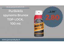 Akcija spynų purškikliui BRUNOX TOP-LOCK