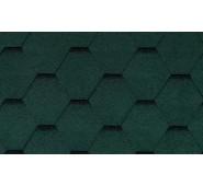 Bituminės Čerpelės Bitumen tile žalia, Pakuotėje 3m2