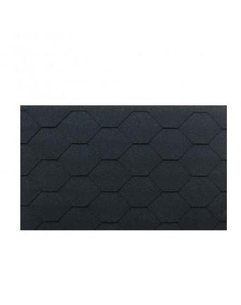 Bituminės Čerpelės Bitumen tile grafito juoda, Pakuotėje 3m2
