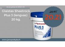 Glaistas Sheetrock Plus 3 net su 15% nuolaida!