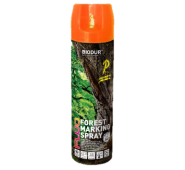 Aerozoliniai miško ženklinimo dažai Biodur, oranžiniai, 500 ml.