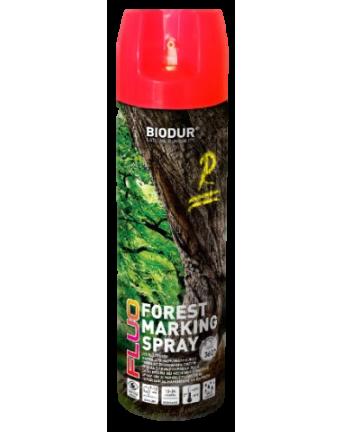 Aerozoliniai miško ženklinimo dažai Biodur, raudoni, 500 ml.