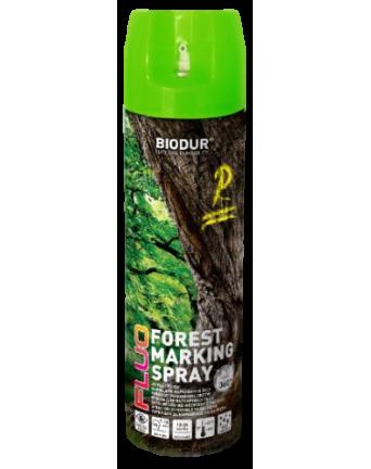 Aerozoliniai miško ženklinimo dažai Biodur, žali, 500 ml.