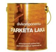 Dviejų komponentų parketinis lakas Biolar blizgus, 2,2 L