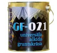 Universalus alkidinis gruntas GF-021 raudonai-ruda, 0,8 L
