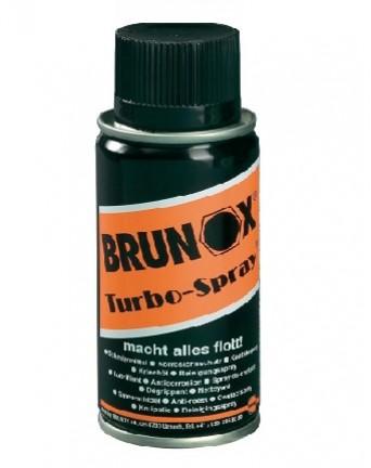 Antikorozinė daugiafunkcinė purškimo priemonė Brunox Turbo spray, 100 ml