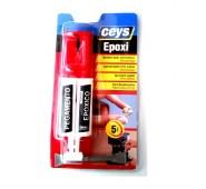 Epoksidiniai dviejų komponentų klijai Fast epoxy, 24 ml