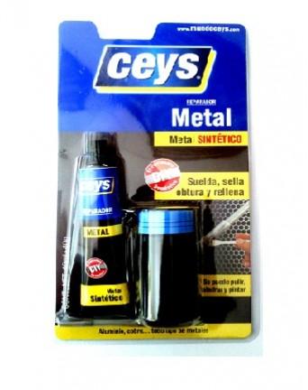 Dviejų komponentų klijai metalui, 40 ml+40 gr