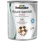 Lazurinis lakas - impregnantas Dekorator alyvmedis, 0,75 L