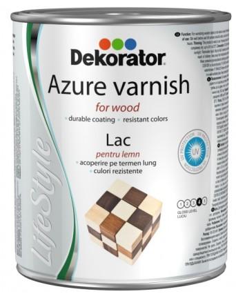 Lazurinis lakas - impregnantas Dekorator tamsus tikas, 0,75 L