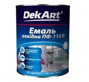 Alkidinė emalė  DekART šveisiai pilka, 0,9 kg
