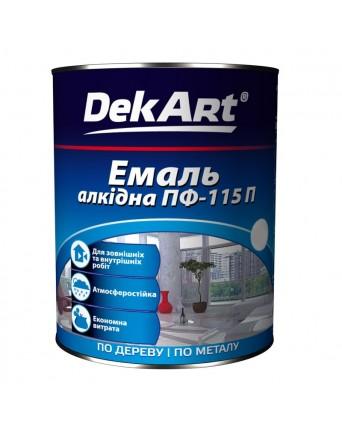 Alkidinė emalė DekART balta, 0,9 kg