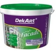 Akriliniai dažai fasadamsDekART FASADE, 1,2 kg