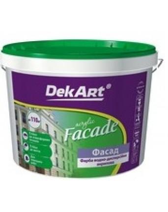 Akriliniai dažai fasadams DekART FASADE , 4 kg