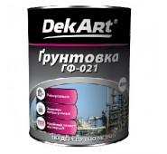 Gruntas metaliniams ir mediniams paviršiams DekART pilkas,  0,9 kg