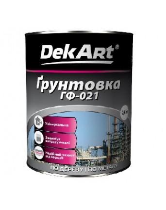 Gruntas metaliniams ir mediniams paviršiams DekART raudonai-ruda, 25 kg