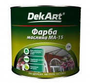 Aliejiniai dažai DekART MA-15  balta, 2,5 kg