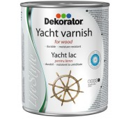 Jachtinis lakas Dekorator, 0,75 L