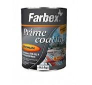 Antikorozinis gruntas Farbex GF-021 juodas, 0,9 kg