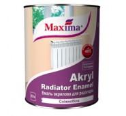 Vandens dispersiniai dažai radiatoriams Maxima balta, 0,75 L