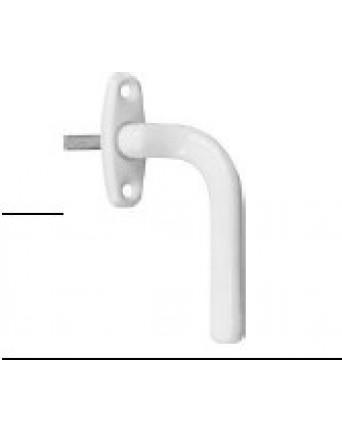 Langų rankenė, dešinė, balta, be mechanizmo 302/2