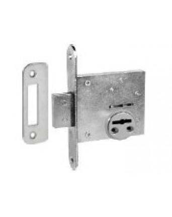 Įleidžiama spyna išorės durims Ilga -2, cinkuota, 486Z-DB