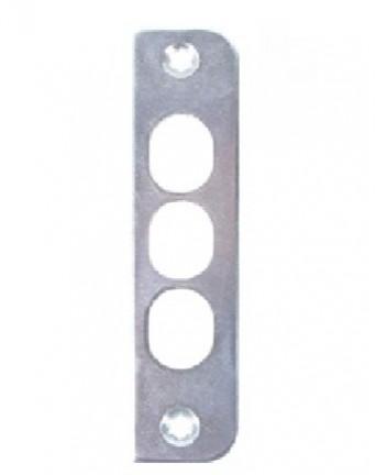 Atraminė plokštelė ZP -55 cinkuota, 100 x 24